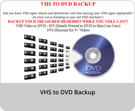 VHS to DVD Backup